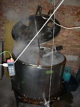Photo: Würze mit Hopfen kochen