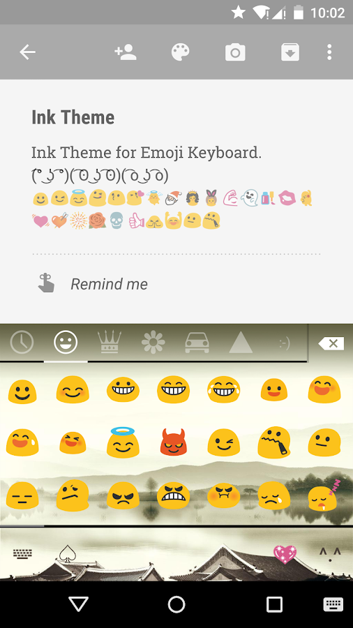 Ink emoji keyboard theme android apps on google play for Emoji ink