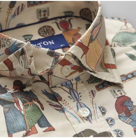 ETON Horizons egyptisk konst slim fit