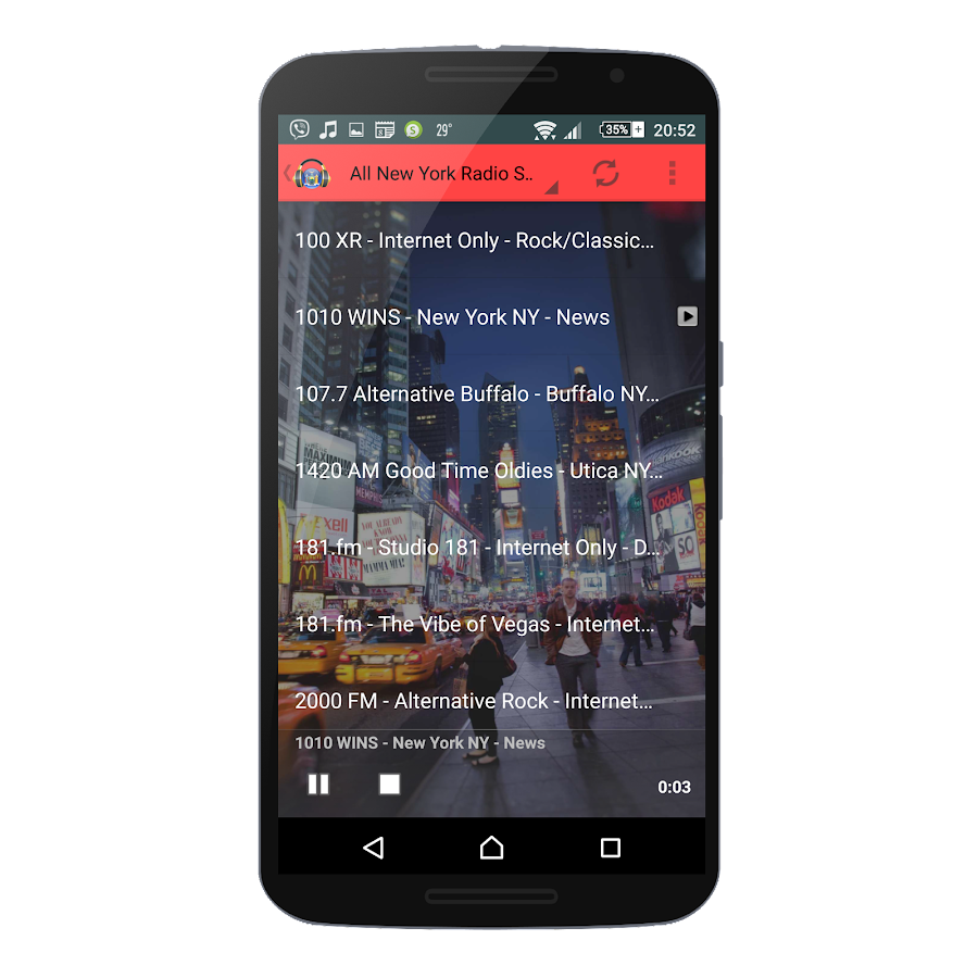how to play radio stations on google home