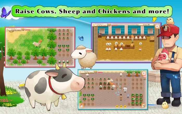 HARVEST MOON Seeds Of Memories v1.0 Apk Miki