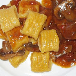Beef Stew With Pumpkin Gnocchi