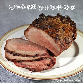 Kamado Grill Eye of Round Roast.