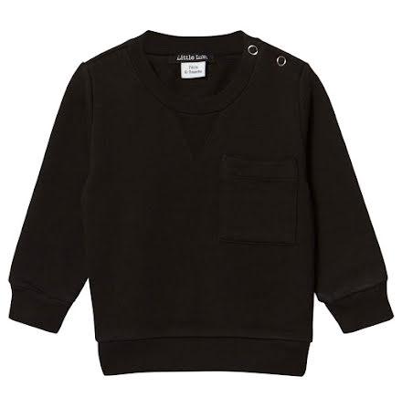 Little LuWi Black Sweatshirt