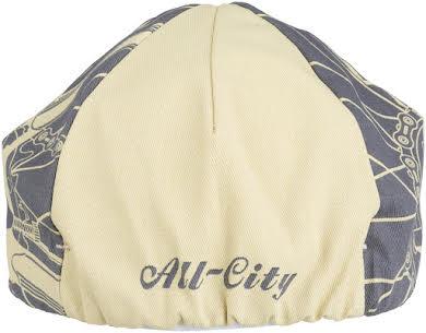 All-City Damn Fine Cycling Cap - Gray, Khaki, One Size alternate image 0