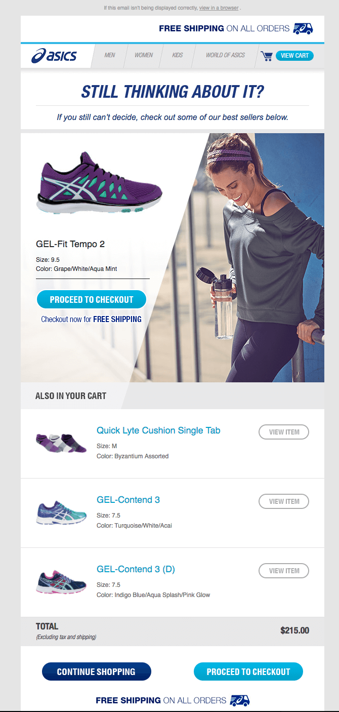 eCommerce personalised recommendations