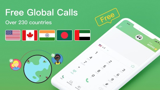 India TouchCall — Free Phone Call & Indy Call 1