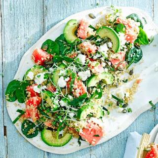 Watermelon Spinach Salad Recipes