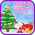 Happy New Year 2016 icon