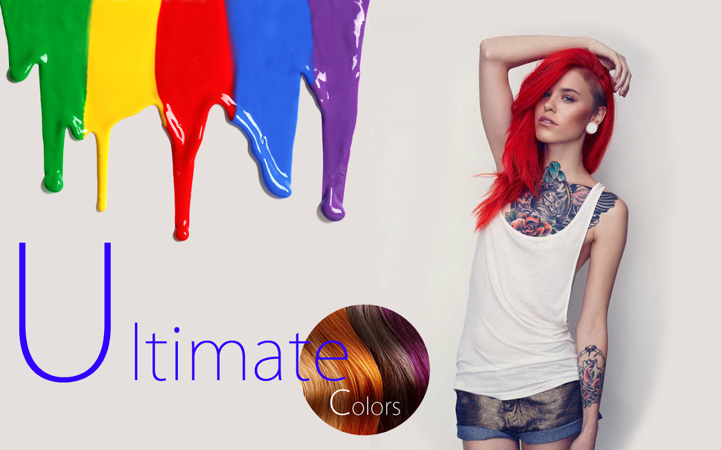 Hair Color Changer Ultimate- screenshot