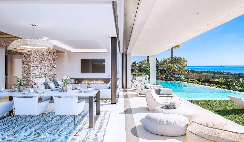 Villa avec piscine et jardin Estepona