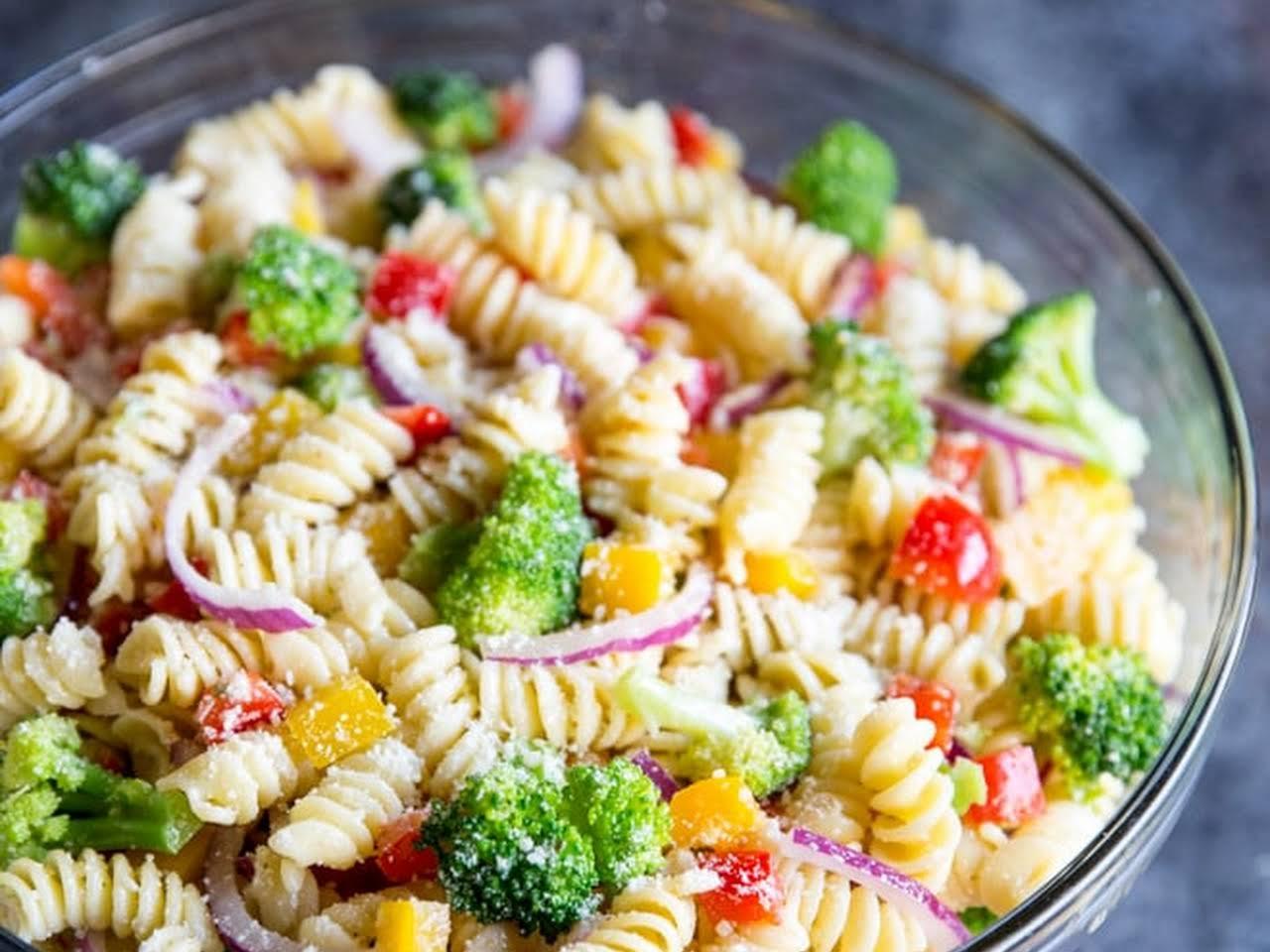 Pasta Salad Recipe With Mayo