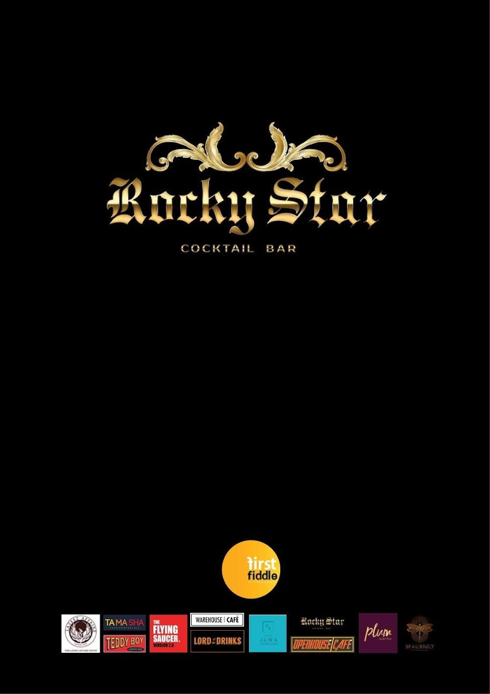 Rocky Star Cafe & Bar menu 7