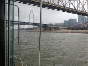 Photo: Eads bridge and the Arch