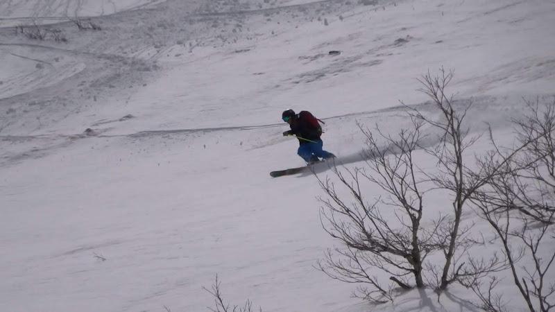 【八方尾根スキー場】バックカントリー・スキー⑥
