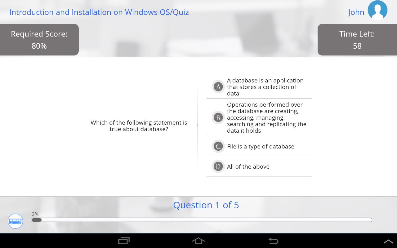 Learn SQL and MySQL- screenshot