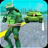 سلحفاة البطل النينجا المحارب: هجوم دبابات APK