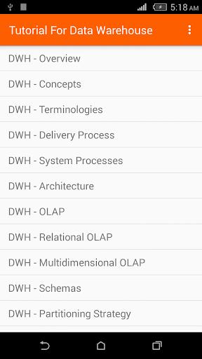 Data Warehouse Tutorial 1.0 screenshots 1