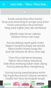 Lagu Iwan Fals screenshot 3
