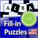 Fill it ins crosswords PRO- Fill ins word puzzles icon