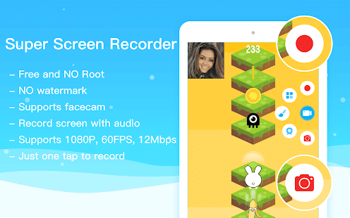 Super Screen Recorder–REC ohne Root & kostenlos Screenshot