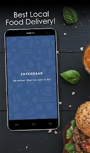 Zaykedaar Food Order & Delivery- screenshot thumbnail