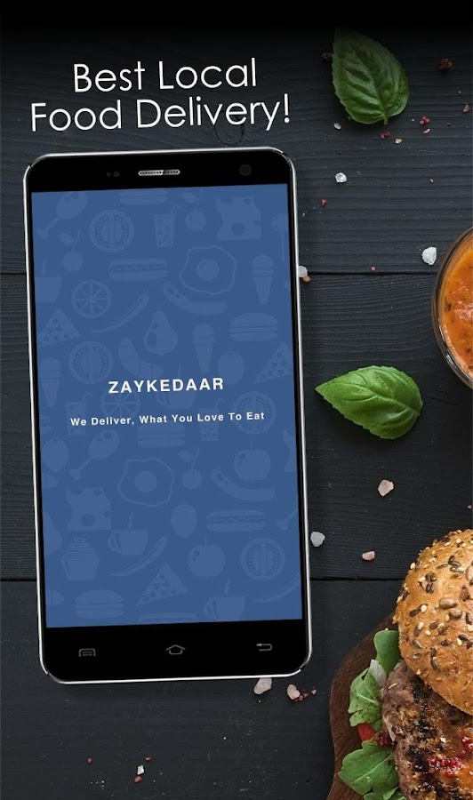 Zaykedaar Food Order & Delivery- screenshot