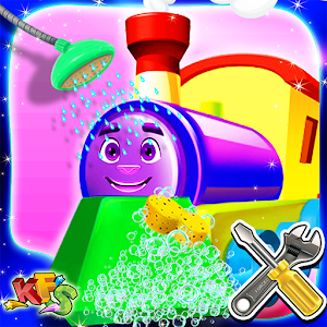 Train Wash Salon & Cleanup for PC and MAC