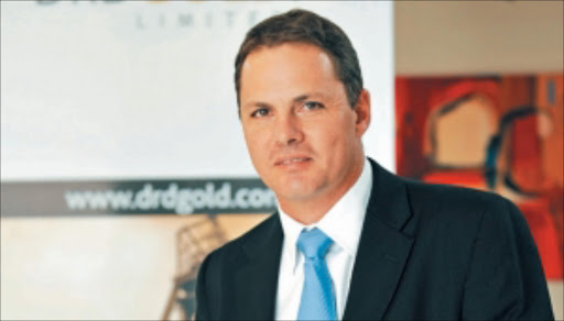 Niel Pretorius, CEO of DRDGGold. Supplied