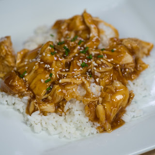 Slow Cooker Bourbon Chicken.