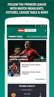 Sun Football- screenshot thumbnail