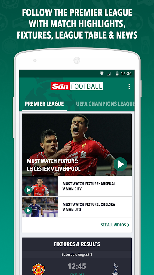 Sun Football- screenshot