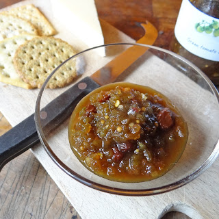 Fresh Green Tomato Chutney