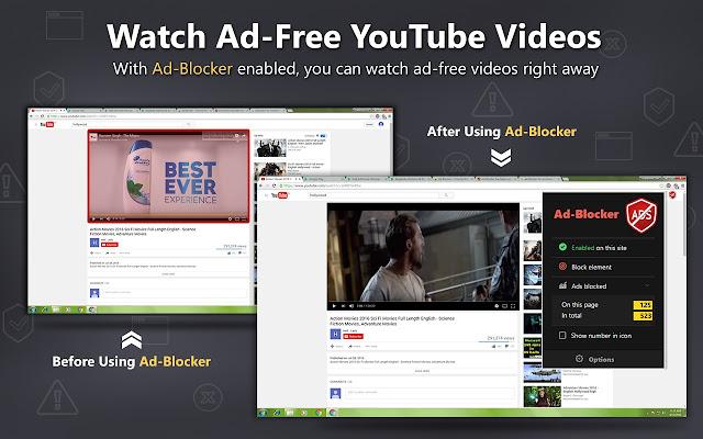Ad-Blocker chrome extension