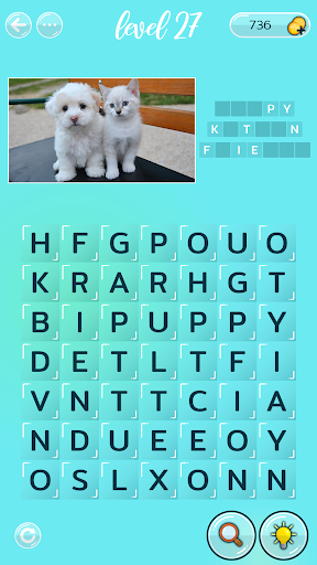 Word Search Puzzles with Pictures - Free word game 0.4.8 screenshots 2