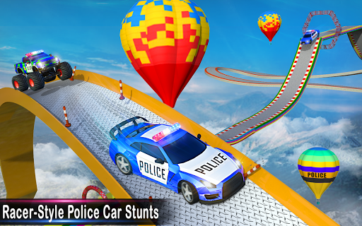 Police Ramp Car Stunts GT Racing Car Stunts Game 1.3.0 screenshots 8
