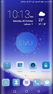 Blue Emui 5 theme for Huawei 1 0 + (AdFree) APK for Android