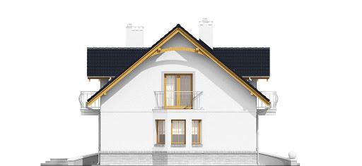 Dom Dla Ciebie 1 z garażem 2-st. A1 - Elewacja lewa