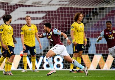 🎥 L'ancien Anderlechtois Trezeguet sort Aston Villa de la zone rouge
