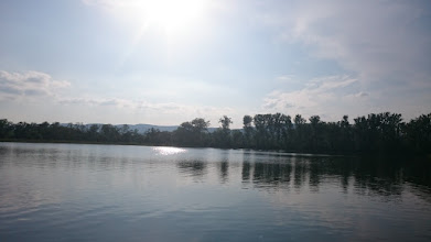 Photo: this small fish pond (lake tomasovce) was shallow and thus really warm