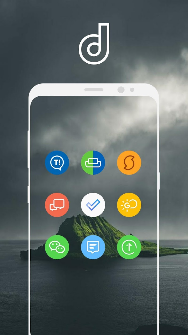 Delux Pixel - S9 Icon pack Screenshot 13