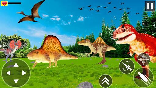Jurassic Dinosaur Hunter Survival Dino 2020 apkpoly screenshots 1