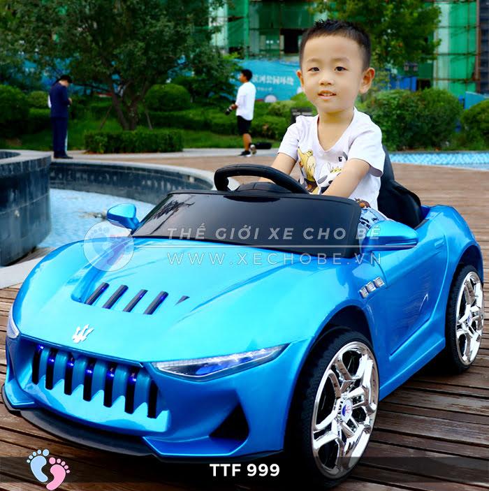 Xe hơi điện trẻ em TTF 999 1