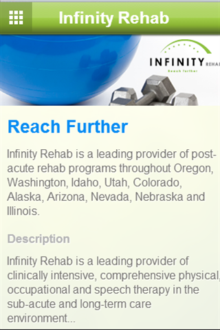 Infinity Rehab- screenshot