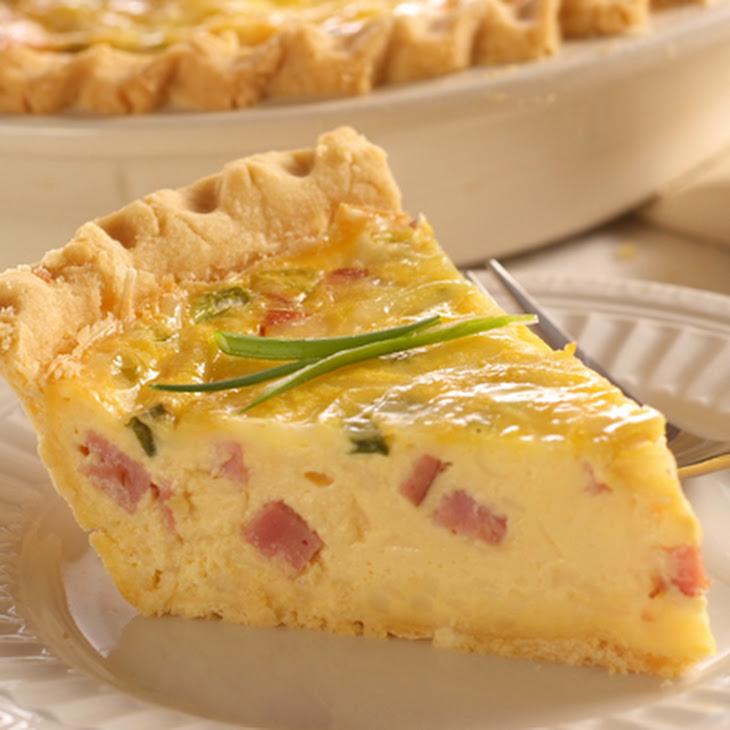 Ham and Swiss Quiche Recipe