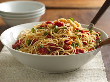Angel Hair With Tomato And Basil Recipe