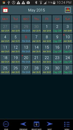 Work Roster 1.011 screenshots 1