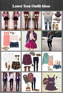 Latest Teen Outfit Ideas - náhled