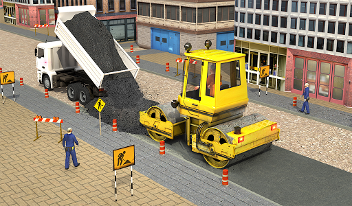 Excavator Simulator - Construction Road Builder 1.0.1 screenshots 17