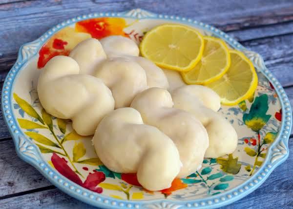 Italian S Cookies On A Plate.